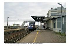 Verneuil sur Avre. Train for Argentan. 28.11.07