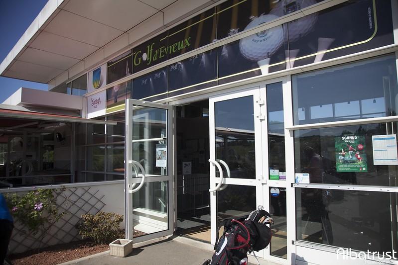 photo du golf Golf d'Évreux - Parking