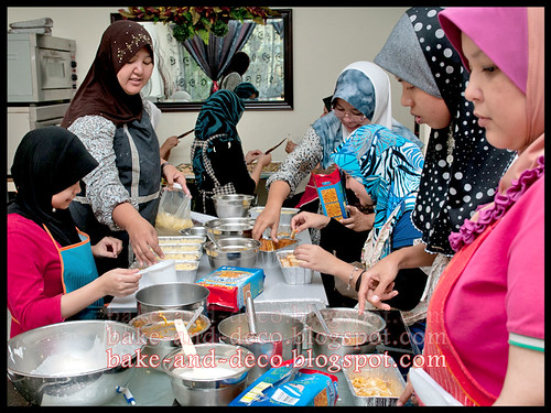 Baking & Deco Class: Special Raya ~ 7 July 2012