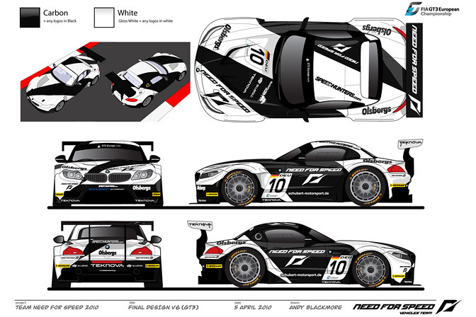 Design Your Own Race Car Livery