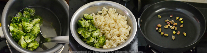 How to make broccoli pasta - Step2