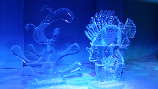 Finding Nemo, Ice sculpture, Winterlude, Ottawa