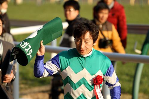 Winning Jockey Norihiro Yokoyama
