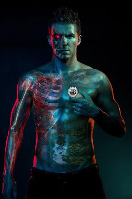 David Beckham Cyborg Final