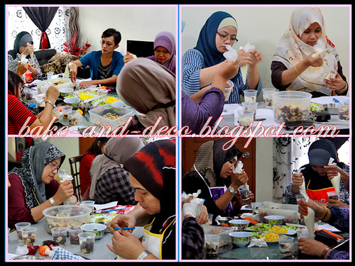 Baking & Deco Class: Lapis Cheezy & Tutty fruity Cream Dessert ~ 15 July 2012