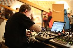 music(1.0), audio engineer(1.0), disc jockey(1.0), recording(1.0), person(1.0),