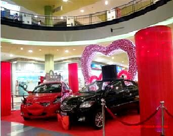 SM City Lucena Valentines Display 2