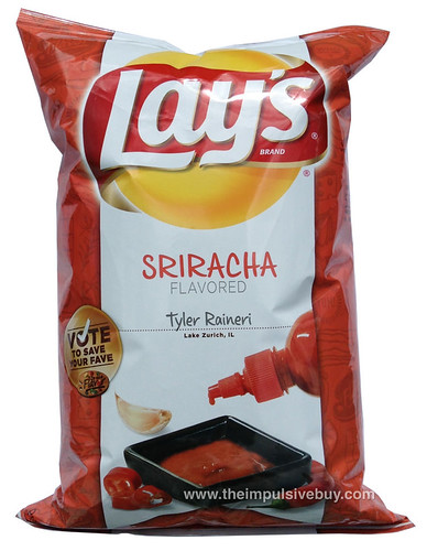 Lay's Do Us a Flavor Finalist Sriracha Potato Chips
