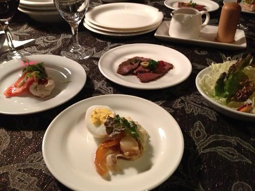 2日目のディナー
