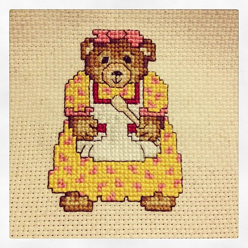 Plenty more to do, but conquered this bear and it did not drive me mad. Thank goodness for that!