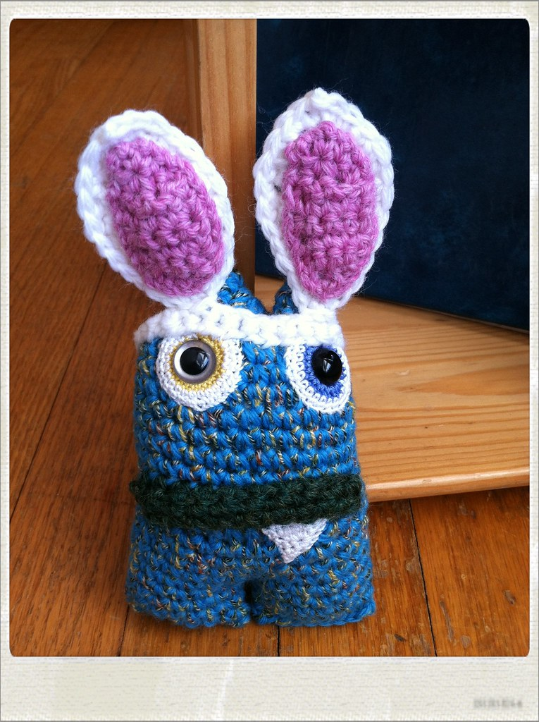 Bunny Monster by Knot By Gran'ma