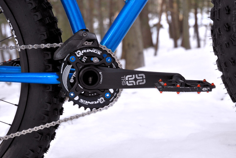e13 TRS Fat Crank + Q Ring