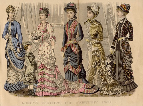 Dinner, Evening, Walking, Carriage, Visiting & 5-Year-Old Dress, February 1880