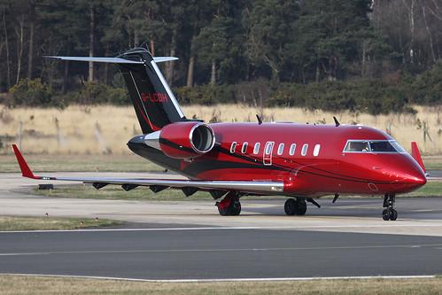 TAG Aviation (UK) Ltd/Lewis Hamilton G-LCDH Canadair CL605 ...