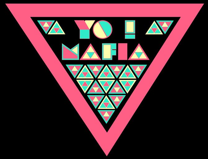 YO MAFIA font design