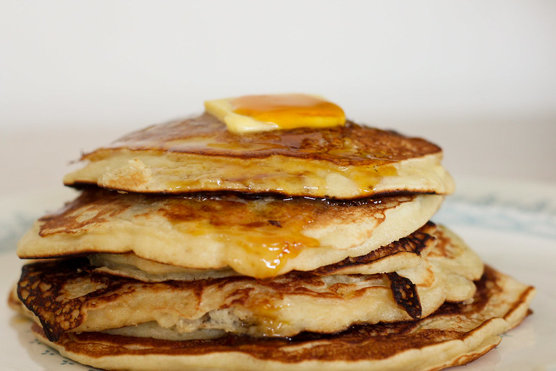 Tuesday, February 12: Pancake day! Shrove Tuesday is not within my culture or religion but it's a good excuse to eat a huge pile of banana pancakes with butter and maple syrup.