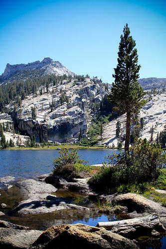 Upper Cathedral Lake, Yosemite National Park, California. Courtesy of evelynquek