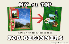 #1 Tip for Digital Scrapbooking