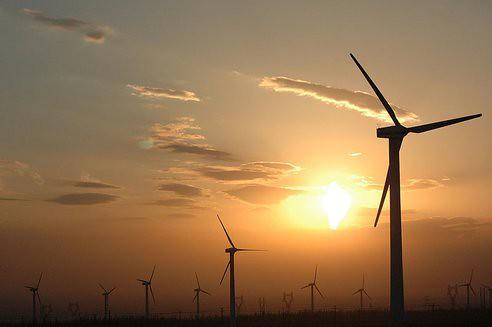 Ветровая энергетика обогнала атомную в Китае