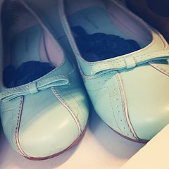 Minty kitten heels #shoes