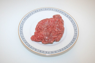 03 - Zutat Rinderhack / Ingredient beef ground meat