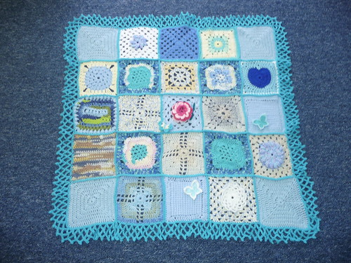 Thanks to everyone who has sent in Squares for this Blanket.Very much appreciated.