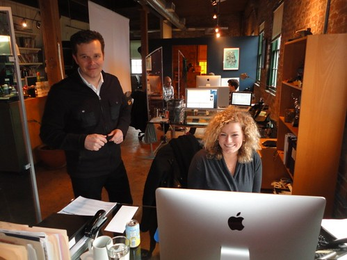 content marketing office in Toronto, David Shephard and Jillian Pyper