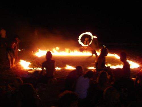 Fireshow Full Moon Party Thailand