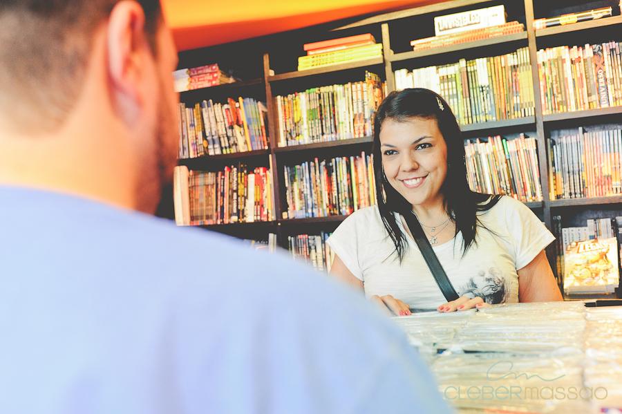 Ana e Fabio E-session na Loja Geek Alameda Santos (3 de 38)