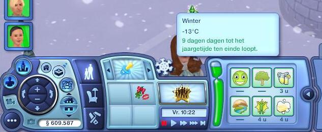 De Sims 3 Jaargetijden seizoenen