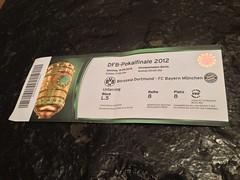 DFB-Pokalfinale 2012: Borussia Dortmund - FC Bayern München
