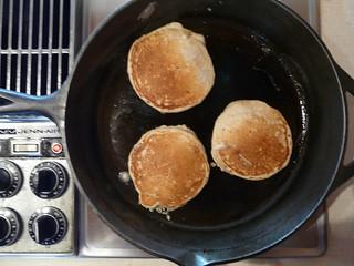 Kefir Flax Pancakes