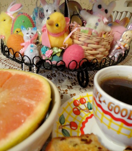 breakfast with easter friends