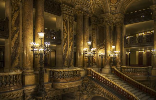 Opera Garnier stairs