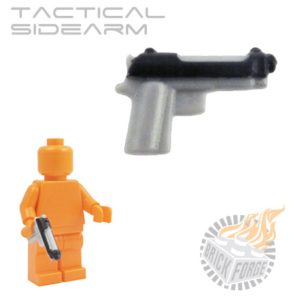 Tactical Sidearm - Silver (black slide print)