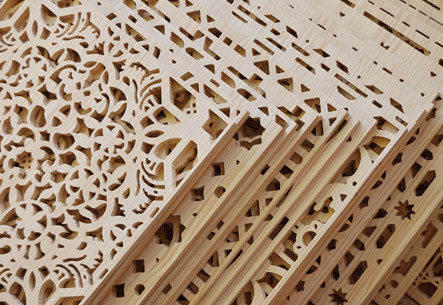 Celosia lattice treillage madera wood bois13 flickr for Celosias en madera