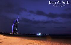 Burj Al Arab starry nights