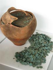 Shrewsburg Roman coin hoard