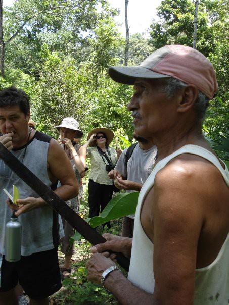 Papi, banana plantation worker turn organic farmer
