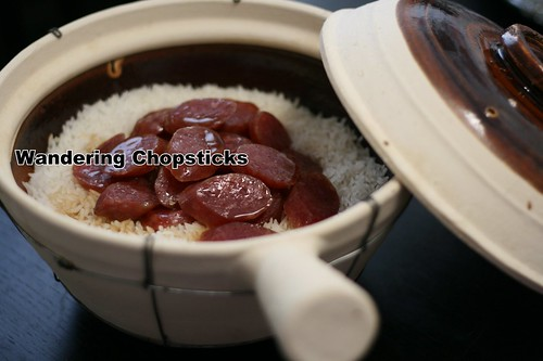 Claypot Rice with Chinese Sausage 2