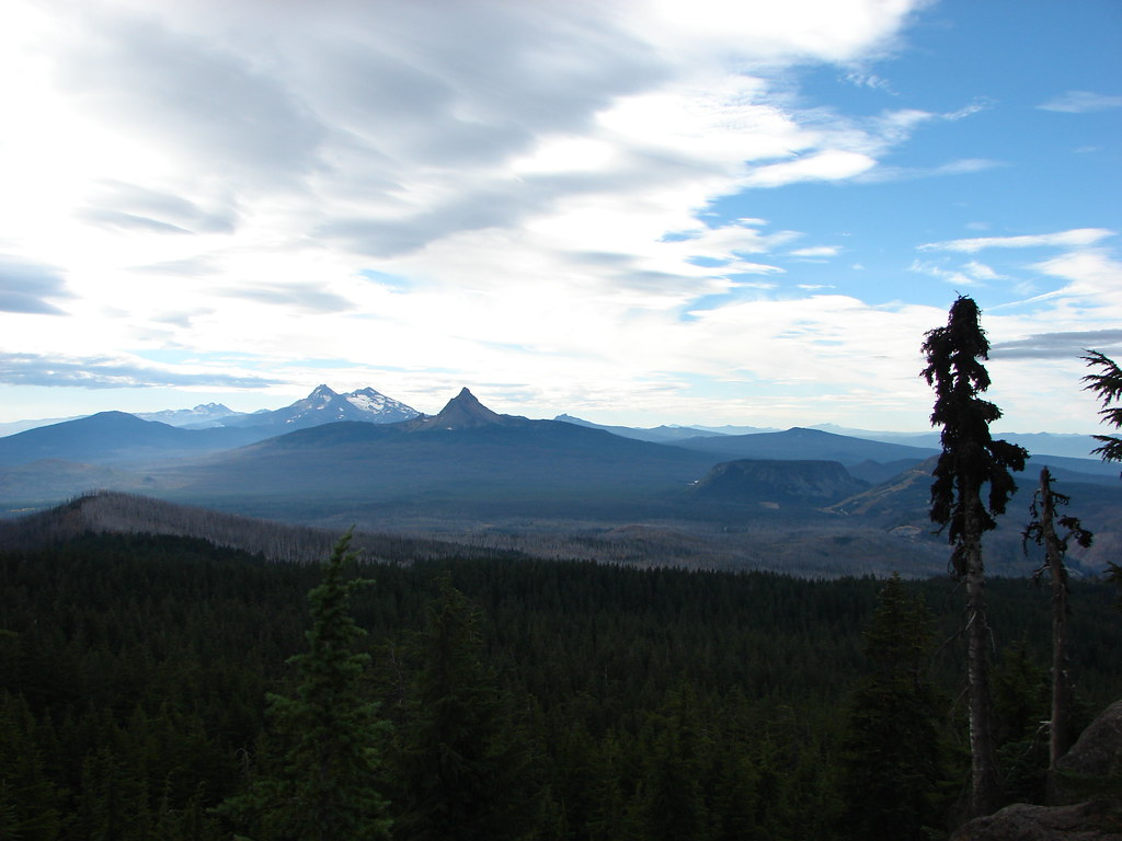 View from the Pacific Crest Trail
