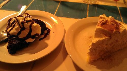 Dessert, jambo cafe, santa fe