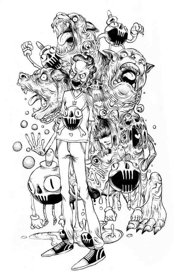 ilustración en méxico
