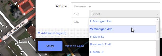 address input