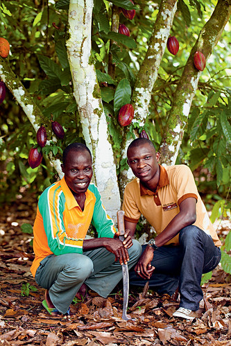 Investment with cocoa farmers