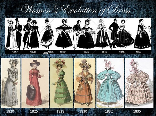 Romantic Fashion 1820-1850