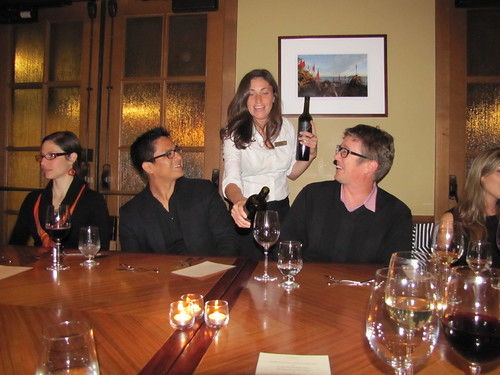 Joyce Vineyard Wine Dinner at Esteban Restaurant