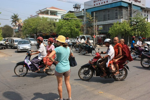 Pedestrians definitely don't have the right of way in Burma