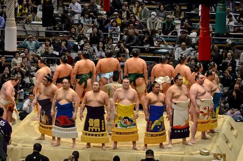 Sumo Tournament Opening Ceremonies