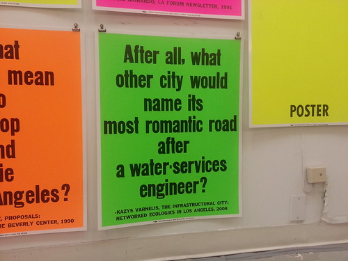 After all what other city would name its most romantic road after a water-services engineer.